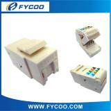 CAT5E Folding  type  Tooless  Keystone  Jack