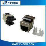 CAT. 5e 180° Half-Shielded Keystone Jack