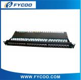 Cat.5e FTP 24 Ports Patch Panel (krone End)
