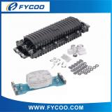 Fiber Optic Splice Closure Horizontal type two inlets/outlets(2Entry 2Exit PC Material)
