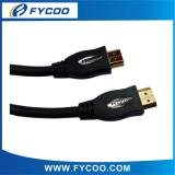 HDMI M TO M cable 24K gold Solid Color