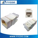 180° Keystone Jack with dustproof shutter