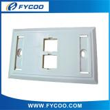 USA 120 style face plate 2 Ports