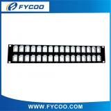 Blank Patch Panel 32 Ports  (Suit Cat.5e&Cat.6 Module Jack)
