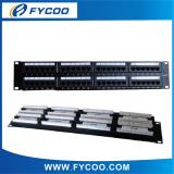 Cat.6 48 Ports Patch Panel With Back Bar