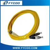Fiber Optic Patch Cord , DIN-FC,SM,DUPLEX,2.0/3.0MM