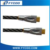 HDMI M TO M cable Metal casing type Chromium metal casing outer mold, shell color silver