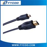 Solid Color Micro type A TO D HDMI M to M Cable
