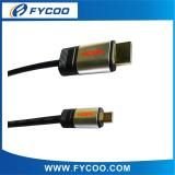 Metal casing type Micro type A TO D HDMI M to M Cable