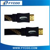 Flat type HDMI M TO M cable Solid Color