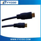 Solid Color Mini type A TO C HDMI M to M Cable