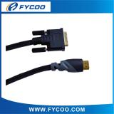 DVI to HDMI cable Double color