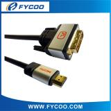 DVI to HDMI cable Golden