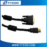 DVI to HDMI cable Black color