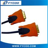 DVI to DVI cable Orange Connector