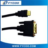 DVI to HDMI cable Pure black